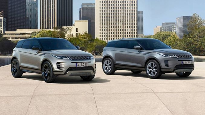 range rover Evoque-liter gasoline engine with the option turkiyede
