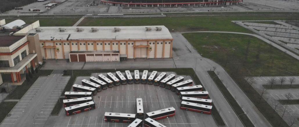 New buses start to run in Samsun