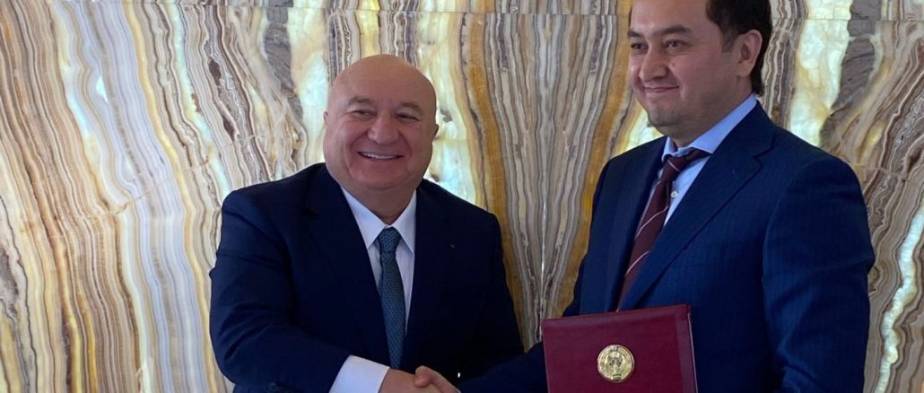 Tav signed a cooperation agreement to develop airports in Uzbekistan