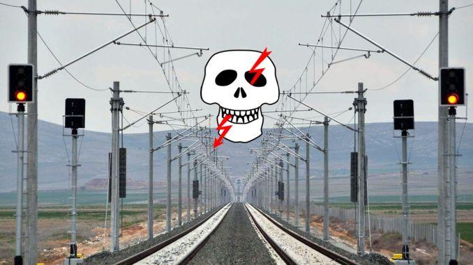 tcddden high voltage warning