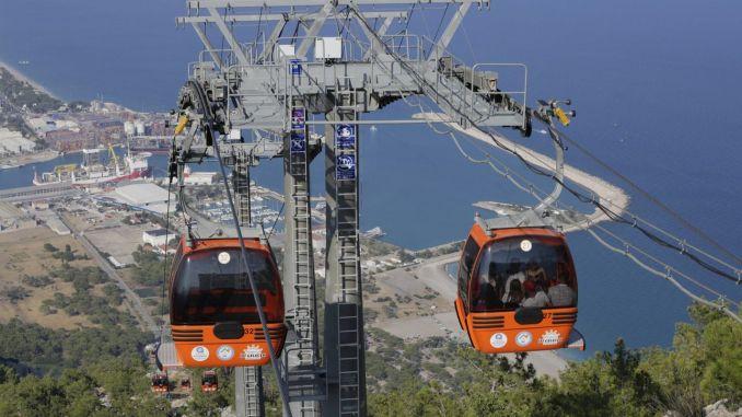 Tunektepe cable car enters maintenance