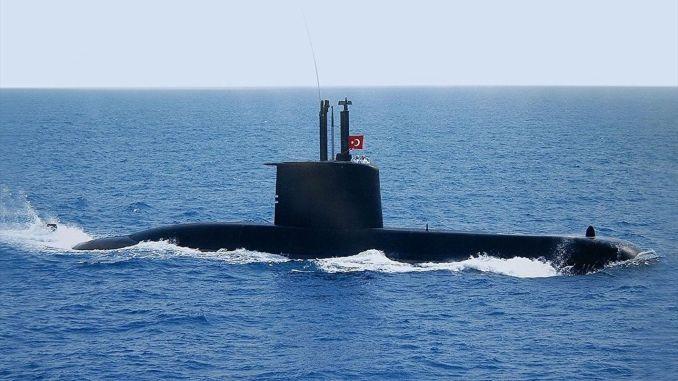 turkish naval forces use national underwater warfare management system