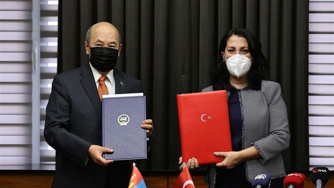 Counties with Mongolia in the field of free turkey went into business associations