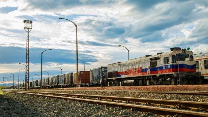 iran turkey rail million tons per year target TRANSPORT load