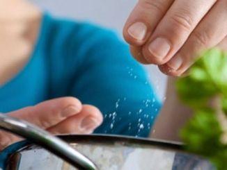 Consideraciones en el consumo de sal