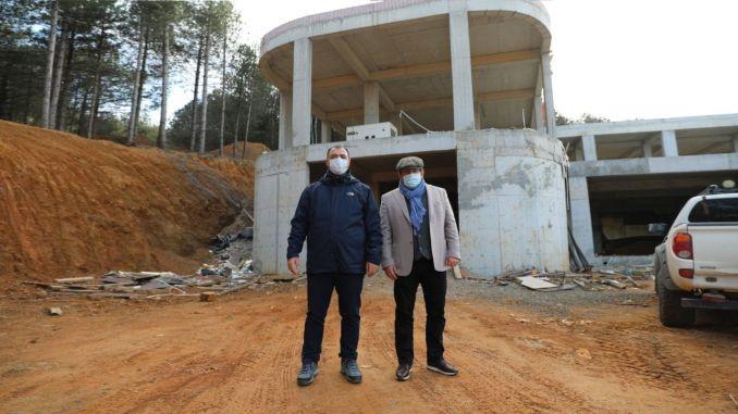 Gubernatorius padarė pastebėjimus Kaldirimo Sapancos lifto projekto srityje