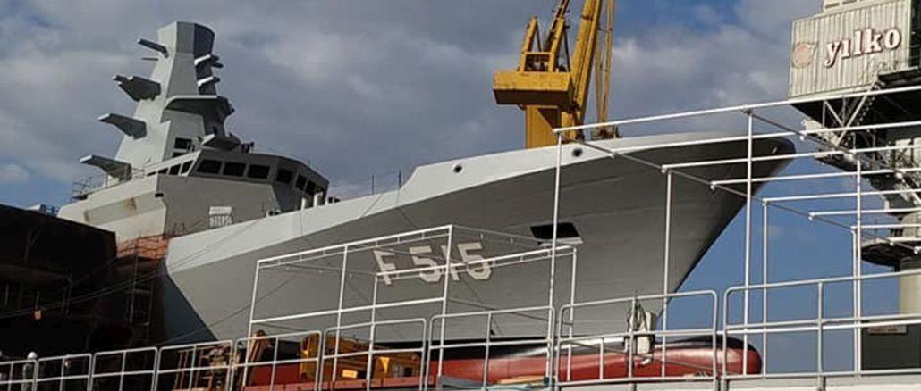 iekšzemes fregate tcg istanbul tiek uzsākta janvārī
