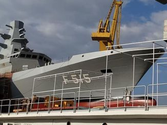 domestic frigate tcg is launched in istanbul january