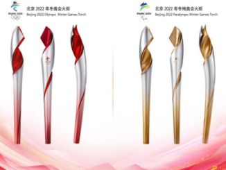 Torch design of the Beijing Winter Olympics and Paralympic Games officially announced