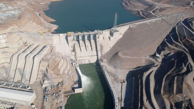 Asagi hat das Wasserkraftwerk Kalekoy fertiggestellt