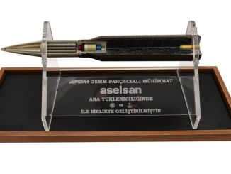 aselsan produced one thousand atom mm particle ammunition electronics