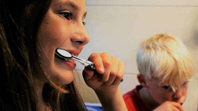 Oral and dental health is of great importance in children