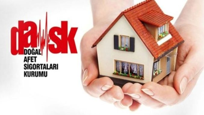 Percentage called for insurance in dask earthquake week