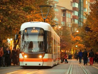 Ales arrangement for eskisehir tram services