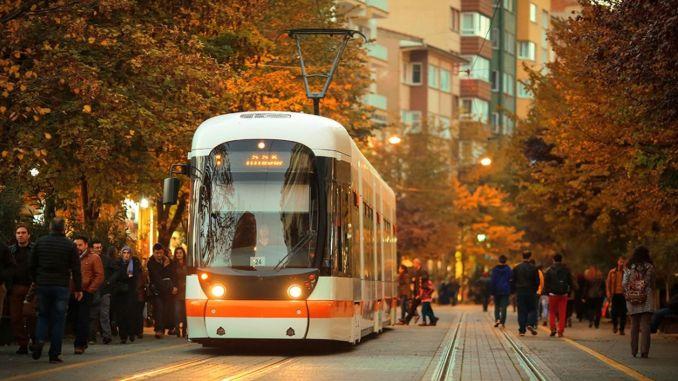 Ales arrangement for eskisehir tram services
