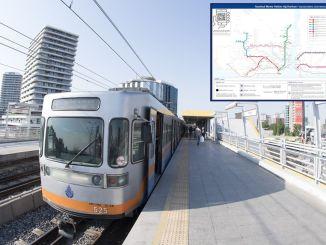 kasalukuyang istanbul metro map