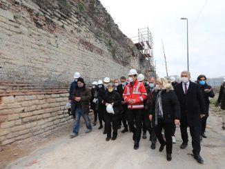 Die Wände von Imamoglu Yedikule wurden seit Jahren nicht mehr berührt