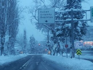 Snow holiday for education and employees in Istanbul
