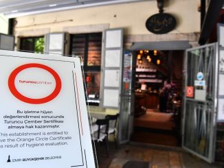 Takeaway is included in the Izmir Orange Cember Hygiene Certificate