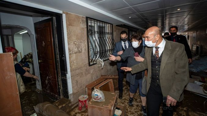 Financial losses caused by the flood in Izmir are covered