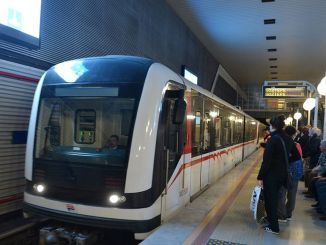 Metro autobusnog terminala Mujde Halkapinar za stanovnike Izmira na tenderu