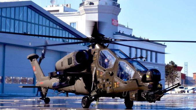 first attack phase helicopter delivered to the land forces command