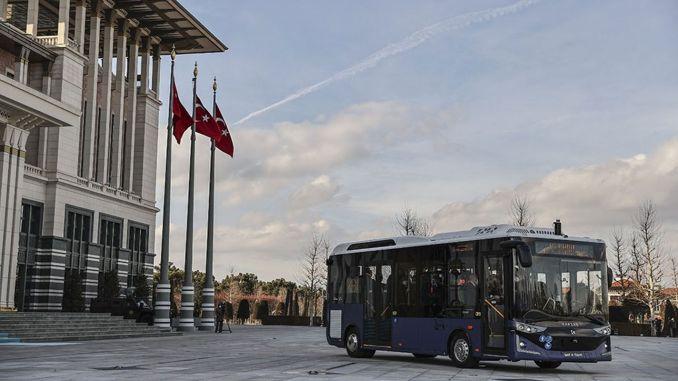 Karsan introduces autonomous attack electric bus