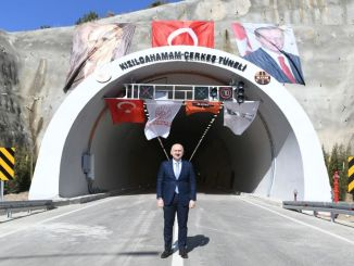 kizilcahamam cerkes tunnel opened to traffic