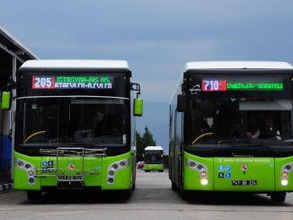 Kocaeli Transportbusse werden am Wochenende verkehren