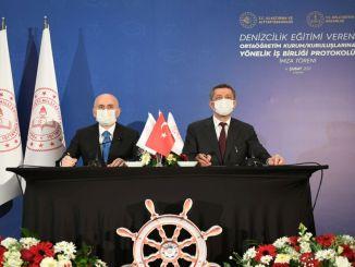 Подписан протокол о сотрудничестве по морскому образованию в профессиональных лицеях.