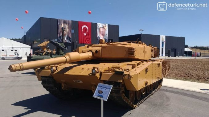 roketsan delivered its first leopard horse tanks to tskya