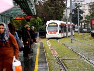 Δρομολόγια τραμ και λεωφορείων για σαββατοκύριακο samsun Φεβρουαρίου
