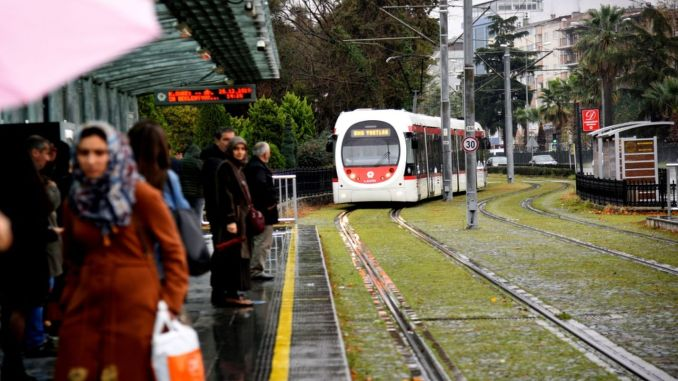 samsun february weekend tram and bus timetable