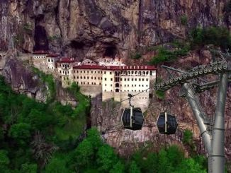 The cable car project of the Sumela monastery is at the tender stage