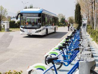 制定行動計劃的第一個綠色城市伊茲密爾是turkiyenin