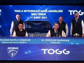 وقعت سيارة turkiyenin tOGGer و MGM على بروتوكول