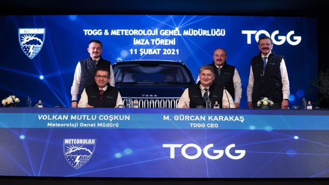 turkiyenin car tOGGer and MGM signed a protocol