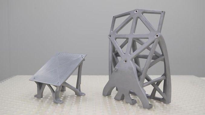 konnte wichtige Satellitenstrukturen auf dreidimensionalen Druckern erzeugen