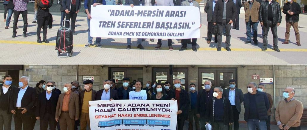 adana to mersin train service start
