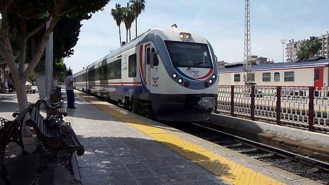 adana mersin train service starts again