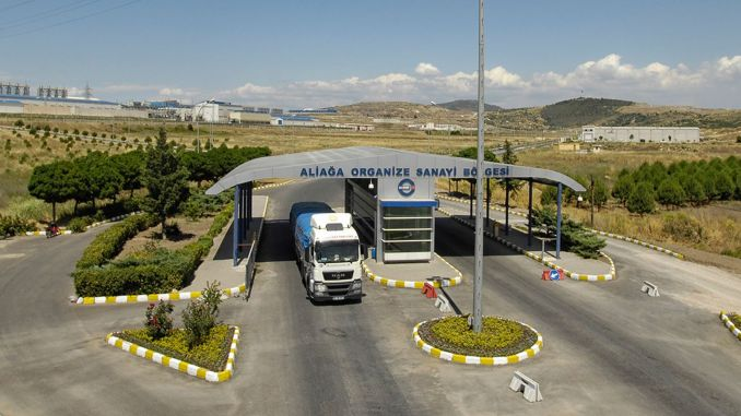 Aliaga osb vocational and technical anatolian high school foundation laid