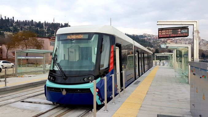 Free bus services started for alibeykoy cibali tram line