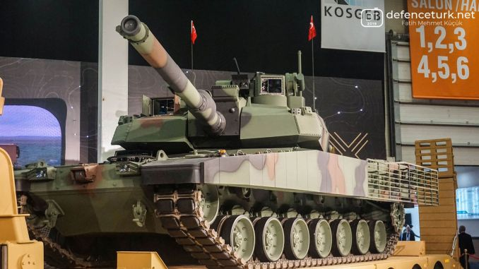 agreement with south korea for the altay tank's power pack