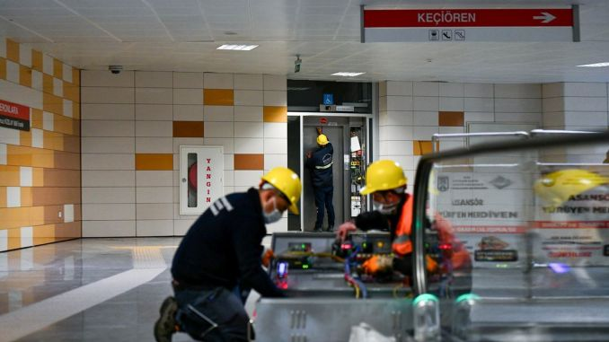 Ankara metro and ankaray elevators are now more secure