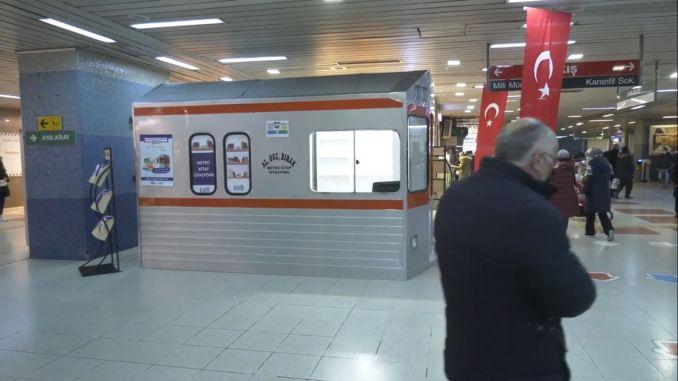 Ankara metro book station opened