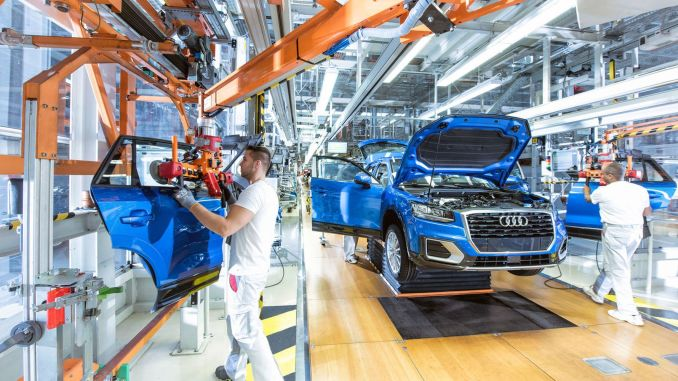 Audi plans to reduce its water consumption in production by half by year