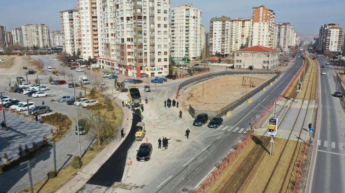 President Büyükkilic Supervised Multilevel intersection and underpass works