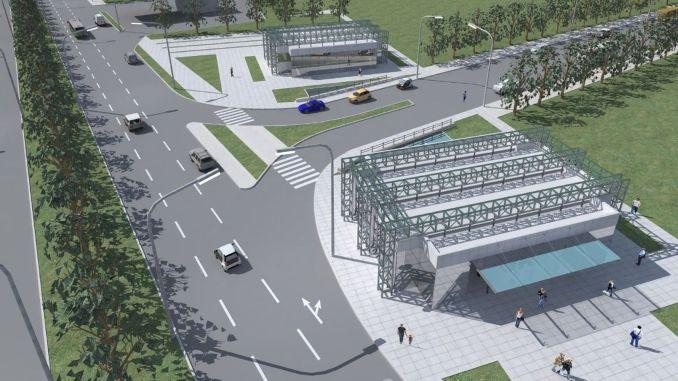 new metro station to bursaya