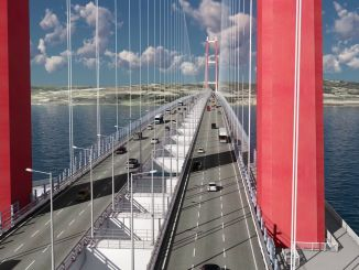 million vehicle warranty a year for canakkale bridge