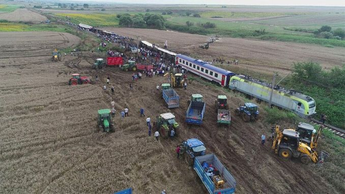 The third hearing of the corlu train disaster case was held